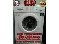 Bosch Washing machine 1400 spin Quick Wash