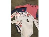 Boys long sleeved bodysuit vests aged 2-3 John Lewis £3