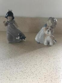 Nao child and dog figures