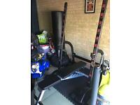 Squat/ bench press rack with olympic weights +extras £400ono