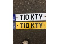 Personalised Registration T10 KTY