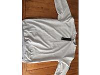 Stone island grey jumper
