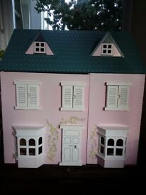Doll's House + Some Furniture VGC Perfect Christmas Present