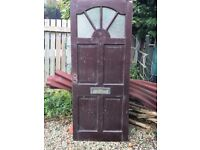 FREE TO COLLECT FRONT WOODEN DOORS