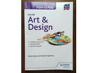Art and Design book for new Higher