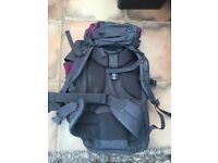 65L Rucksack, used once for DOE. Excellent condition.