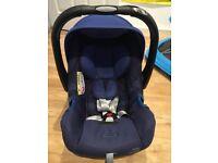Britax Romer baby car seat and base