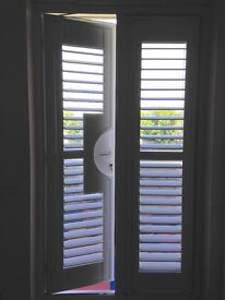 Plantation Shutter, French Cut-Out and Panel