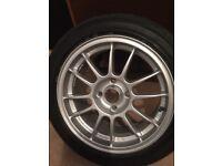 Alloy wheel set 4 stud fully refurbed