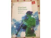Grade 2 Clarinet Exam pieces