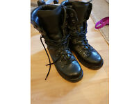 British Army Surplus Black Extreme Cold Weather Goretex Military Boots Grade 1