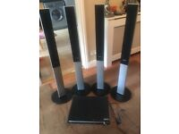 Samsung Home Theatre System x4 speakers