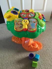 V-tech discovery tree for babies and toddlers