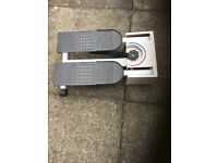 Leisure wise step exerciser