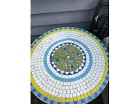 Mosaic Bistro Garden Table