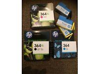 HP Printer Cartridges 364 **new unused**