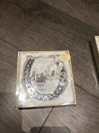 Mr & Mrs Wedding Horseshoe Gift