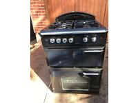 Black leisure gas cooker