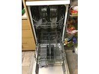 Dishwasher slimline 1 year old