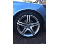 Mercedes 18 inch alloys set of 4