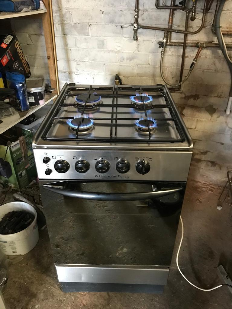 Electrolux gas cooker Crome 50cm