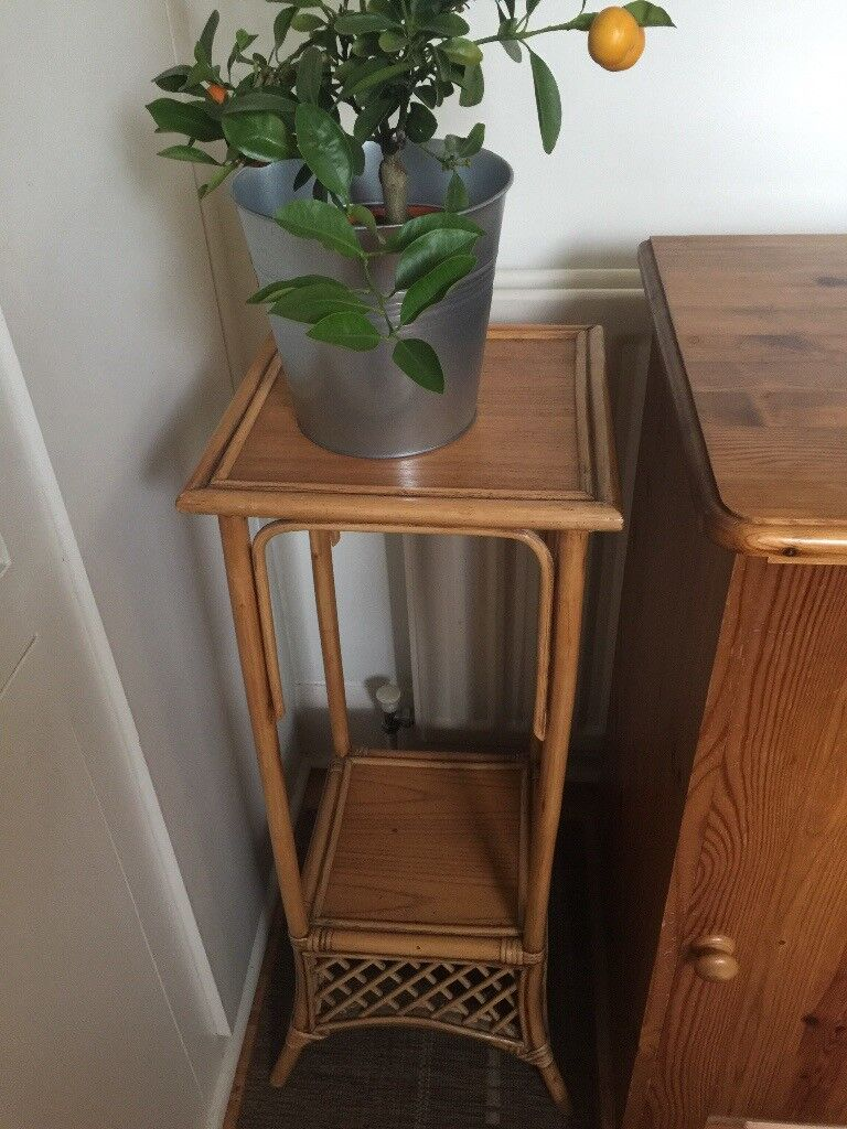 Pair of Matching Planters, Plant Stands