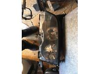 BMW e46 passenger side coupe headlight pre facelift