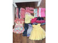 Baby Girl Clothes Bundle and Extra 147 items fisher price rocker,play mat, baby carrier etc