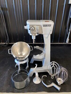 Hobart 30 Qt Mixer Quart 30qt Dough Mixer Pizza Bakery Bread 20 60 80