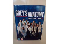 GREY'S ANATOMY COMPLETE SEASONS 1 TO 8