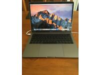 MacBook Pro 13 inch 2017 2TB3 ports, Space Grey,