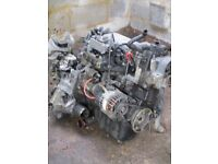 full engine and gearbox from 1.3 fiat punto