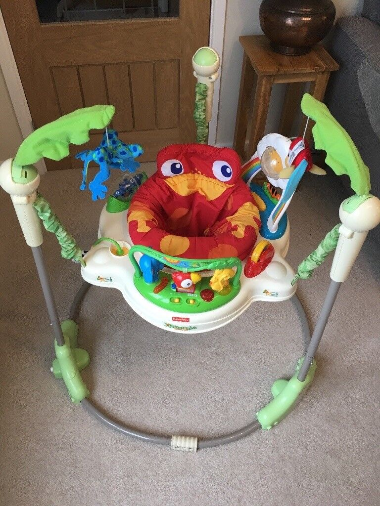 e6966cdf4 Fisher Price Rainforest Jumperoo - Good Condition £25