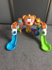Like new multi-position baby entertainer/gym