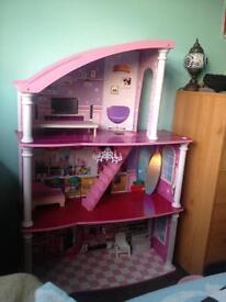 Large dolls house.
