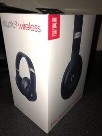 Beats By Dre Blue Studio3 Wireless Headphones
