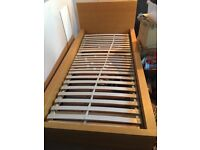 GONE pending collection FREE Single bed frame IKEA no mattress person must dismantle and collect