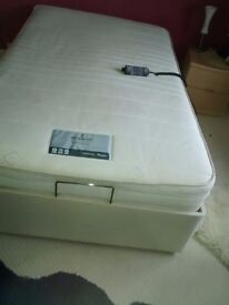 4ft Single adjustable bed, with full hand held electric control hand set.