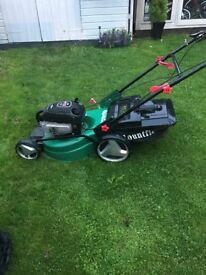 quialcast industrail lawn mower needs carb