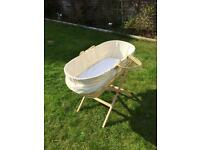 Moses Basket in fab condition £25