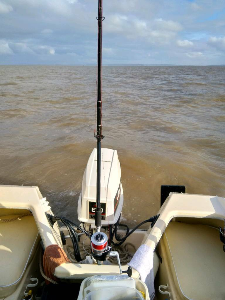 Johnson 60hp vro outboard motor electric start trim and tilt fishing boat  rib | in Pontypool, Torfaen | Gumtree
