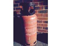 18 kg full fork lift gas bottle. £15