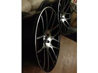 "20"" brandnew alloy wheels no tyres"