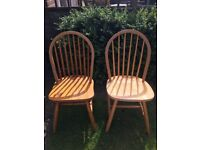 2 Dining Chairs - Shabby Chic Project?