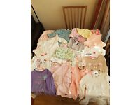 9 to 12 months baby girl clothes bundle in very good condition!