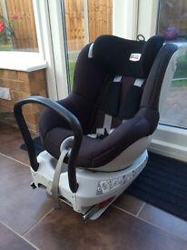 Britax dualfix car seat birth to 18kg