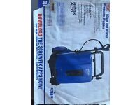 Nilfisk hot and cold steam cleaner.