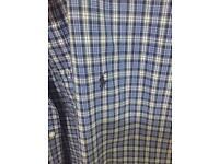 Ralph Lauren men's check shirt xl