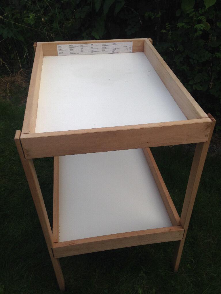 Ikea SNIGLAR changing tablein East Dulwich, LondonGumtree - Good condition Ikea SNIGLAR change table. Length 72 cm Width 53 cm Height 87 cm