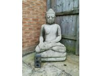 Massive Buddha 1.1m x 600mm weathered. Rare and retails at £300 plus